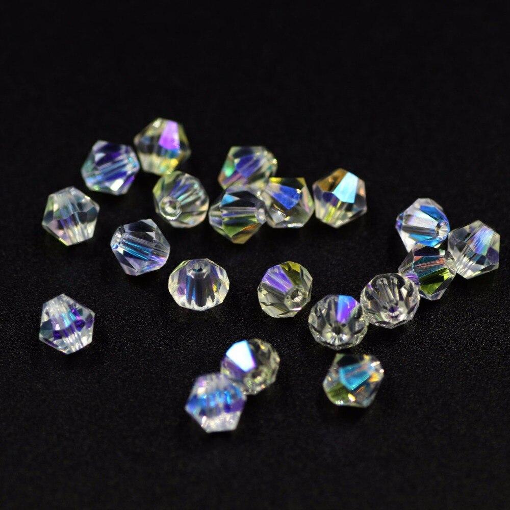 25 Cristal à Facette Rondelle Perles de verre-cristal clair 8 mm