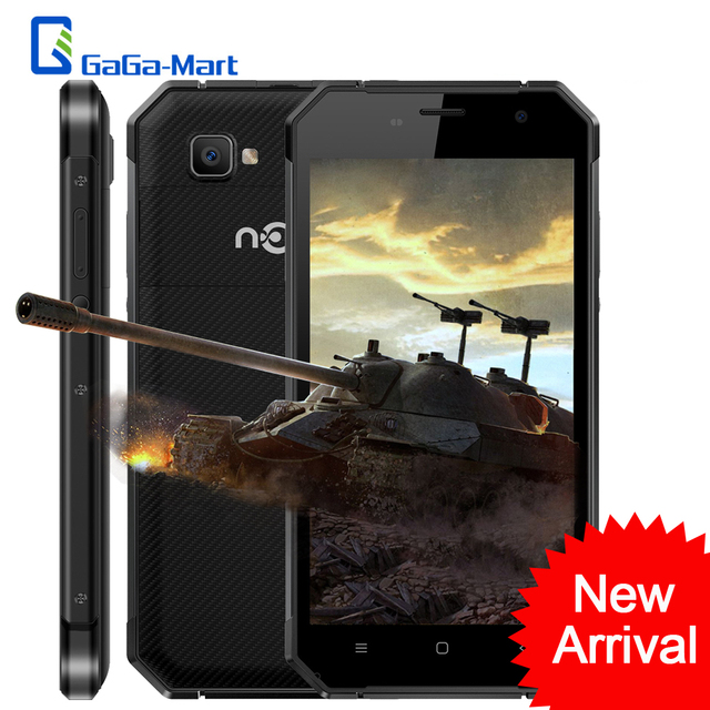 NOMU S30 IP68 Waterproof 4G Smartphone Android 6.0 MTK6755 Octa Core 4GB+64GB 1920*1080Px 5000mAh NFC 5.5 Inch FHD Mobile Phone