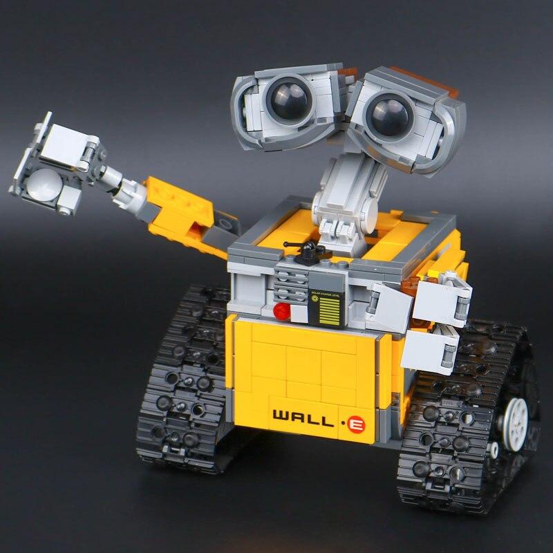 Top technique idée Robot mur E ensemble de construction Kits jouets briques éducatives blocs jouets pour enfants bricolage cadeau - 5