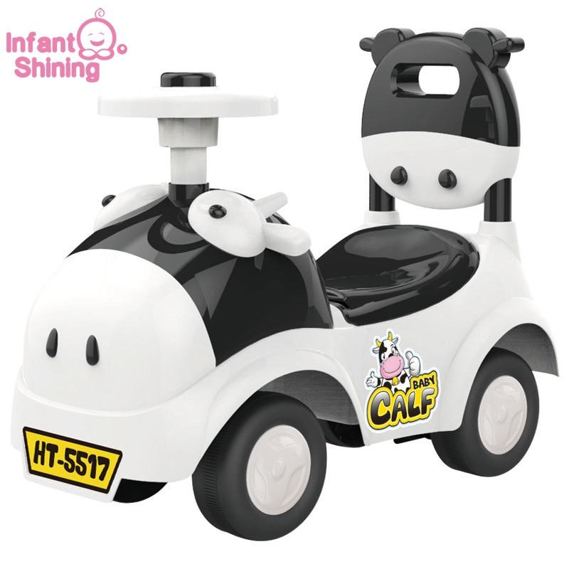 2017 сату Baby Ride Автомобильдер Vechile 1-3years Балалар Скутер Саяхатшы Walker Балалар ойыншық Туған күндер Сыйлықтар Тегін жеткізу