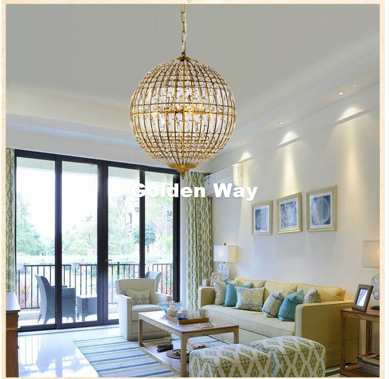 Free Shipping Nordic D30cm 3L Crystal Pendant Nordic Crystal Pendant Lustres Vintage Brass Color Clear Crystal Pendant Lighting modern 3l 5l 6l 8l 10l brass pendant lamp antique brass chandelier vintage total copper glass ac 100% guaranteed free shipping