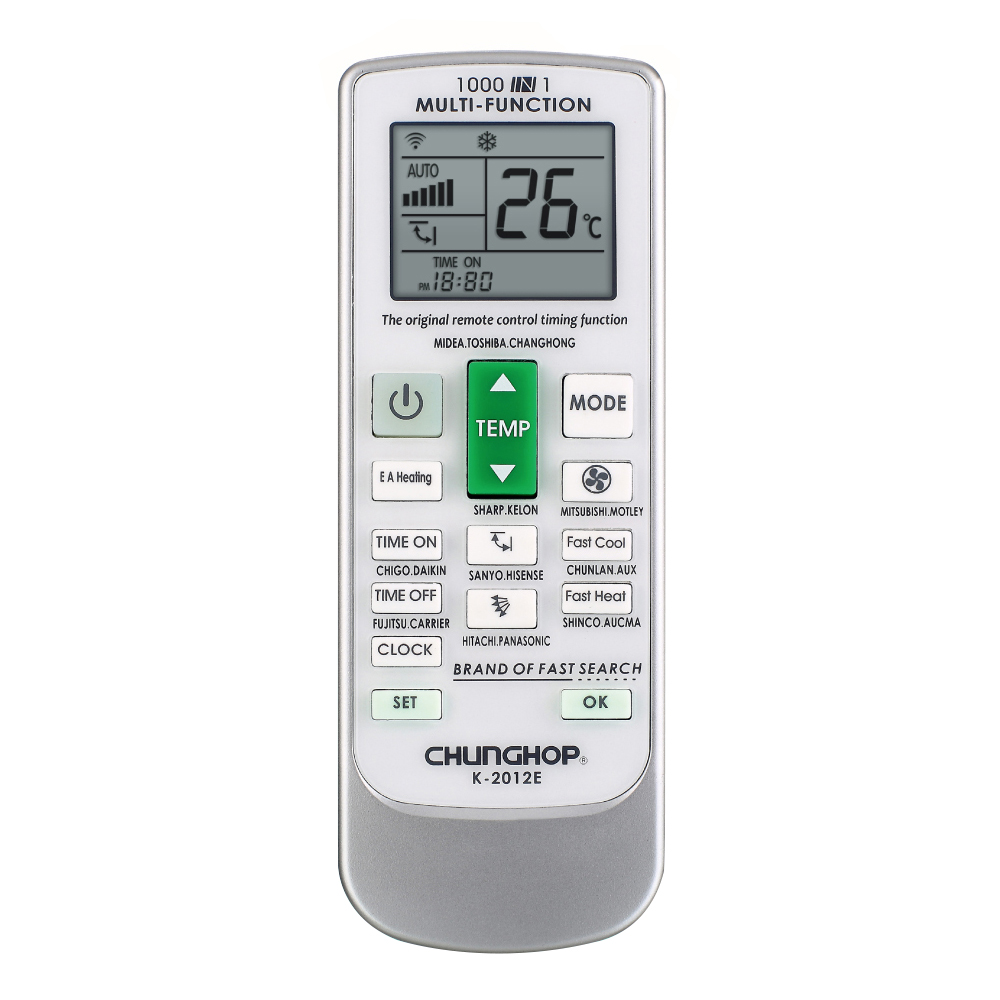 CHUNGHOP New Universal LCD Screen A/C Remote Control Air Conditioner Controller