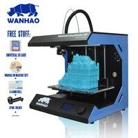 Industrial level! Printing Size:295*195*205mm WANHAO D5S Mini 3D printer Metal Frame Reprap Kit in High Precision Desktop