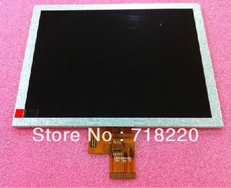 Free shipping original 8 inch EJ080NA-04B LCD screen for Ramos W12HD Newsmy NP900 Tablet PC MID 32001014-02