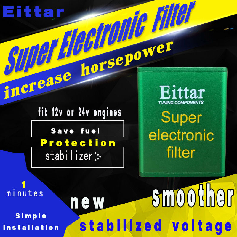 SUPER ELECTRONIC FILTER Car Pick Up Fuel Saver voltage Stabilizer Increases Horse and Torque for all 12v and 24v cars styling-in Oil Pressure Regulator from Automobiles & Motorcycles    2