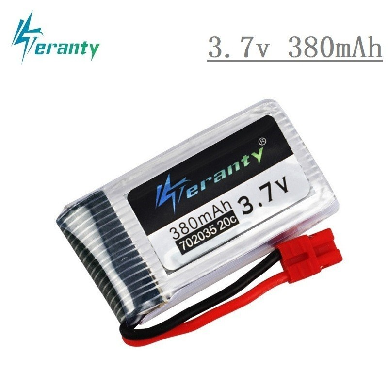 Original Lipo Battery For SYMA X5A-1 <font><b>X15</b></font> X15C X15W RC Helicopter Spare Parts 3.7V 380mah <font><b>Drone</b></font> battery 702035 1pcs image