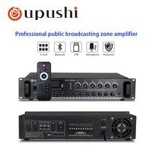 Oupushi новейший PA большой усилитель мощности 180 Вт-660 Вт с 6 зонами отдельный контроль аудио усилители миксер