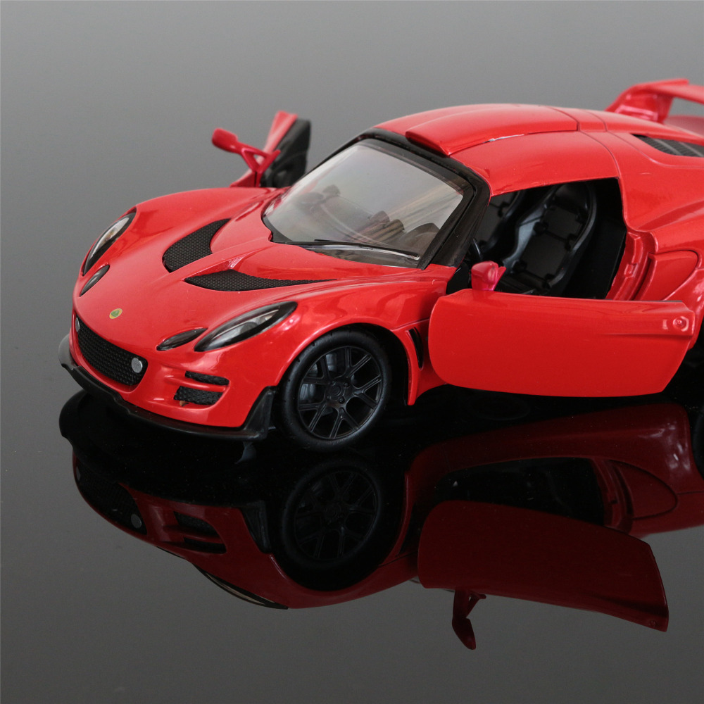 1:32 kids toys LOTUS Mini Auto metal toy cars model pull back car miniatures gifts for boys children