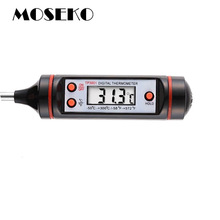 MOSEKO New Digital Meat Thermometer Cooking Food Probe BBQ Oven Kitchen Thermometer Electronic Household Temperature TP3001