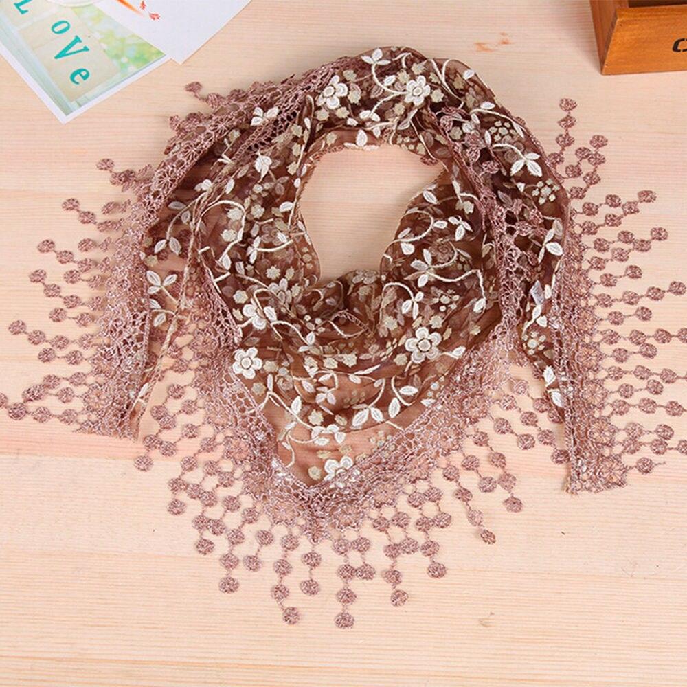 Hot Sale Lace   Scarf   Triangular Crochet Design Lightweight Ladies Vogue Top   Wrap     Scarves   Warm Comfort   Scarves