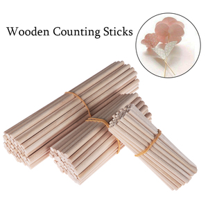 Hot 50pcs 80mm/100mm/150/mm Pine Round Wooden Rods Sticks Premium Durable Wooden Dowel for DIY Crafts Building Model Woodworking(China)