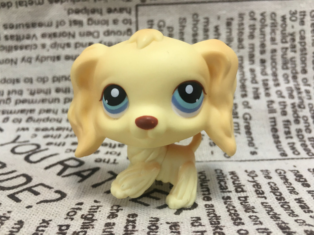New Pet Collection Figure font b Toy b font 91 Cocker Spaniel Dog Puppy Blue Eyes