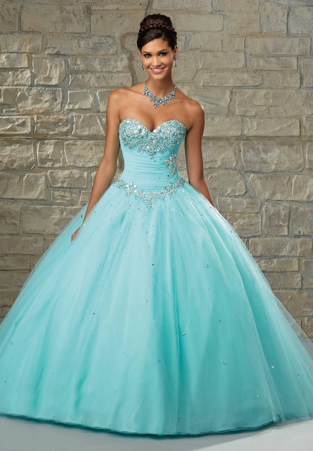 Popular Strapless Baby Blue Prom Dresses-Buy Cheap Strapless Baby ...