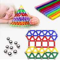 103 157pcs Set New Hot Sale Child Intelligence Toy Educational Toys Magnetic Stick Favorite Gift