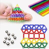 103/157 pçs/set Nova venda Quente Criança inteligência brinquedos educativos brinquedo vara magnética presente favorito