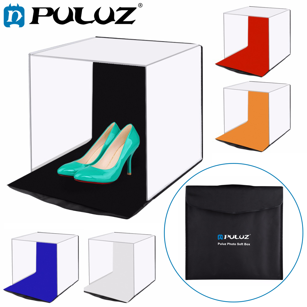PULUZ 40 40cm 16 Photo studio box photograghy Soft box Portable Folding Studio Shooting Tent Box