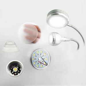 Image 5 - クリエイティブ 2 1 クリップでテーブルランプデザイン USB 調節可能なコールドホワイトデスクライト眉毛ネイルアート美容メイク釣り