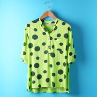 2017 Mew Darkman 5XL 4XL 3XL Fashion Short Sleeve Shirt Blue Yellow Green Plus Size Women