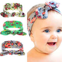 Baby Girls Headbands Toddler Infant Hair Accessories Clothes Band Turban Solid Headwear Hair Band Bow Girl Accessories