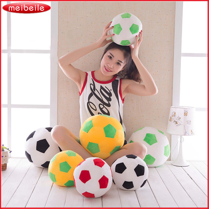 Football Plush Pillows Toys World Cup Stuffed Toy Playing Plushed Toys for Children Kids Girls Baby Gifts Dolls Sofa Soccer Ball
