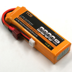 TCB 11.1v 25c 2200mah 3s RC Drone Lipo battery for rc airpalne car free shipping