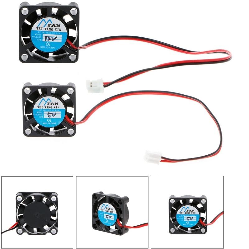 25 X 25 X 7mm DC 5V 12V 2-Pin Cooler Brushless Chipset Heatsink Mini Cooling Fan 2507