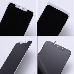 """Image 3 - 100% الأصلي + إطار ل 6.18 """"xiaomi بوكو F1 شاشة الكريستال السائل مجموعة المحولات الرقمية لشاشة تعمل بلمس ل xiaomi mi Pocophone F1 (10 نقطة)"""