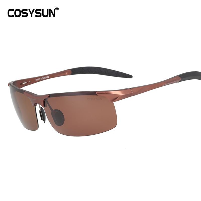 COSYSUN брендовые солнцезащитные очки Классические алюминиевые солнцезащитные очки мужские поляризованные очки для вождения солнцезащитные очки мужские очки спортивные Oculos de sol-in Мужские солнцезащитные очки from Одежда аксессуары on Aliexpresscom  Alibaba Group