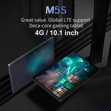 ALLDOCUBE M5S 4G Phablet 10.1'' Deca Core Android 8.0 Phone Call Tablets X20 MT67973GB 32GB Dual SIM Card 5MP Cam Tablet PC