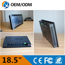 Desktop / wall hanging / embedded / aluminium / 18.5 «Resolution1280x1024 industrial pc industry tablet computer with i3 cpu