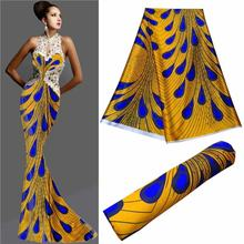 latest african laces 2019 pure silk fabric ankara chic swimsuit fabric tissu satin dress sewing material hot sale5yard/lot LLB-(China)