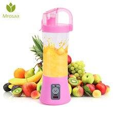 380 мл портативная соковыжималка USB перезаряжаемая электрическая автоматическая овощная Цитрусовые фрукты апельсин Jui ce чайник бутылка для смешивания