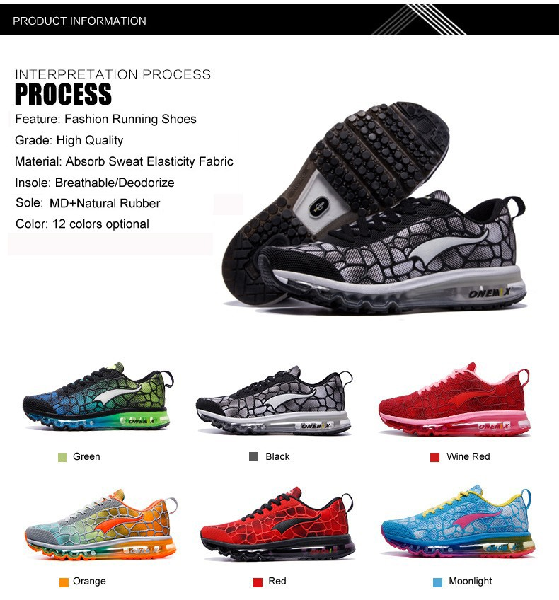 Hotsale ONEMIX 17 cushion sneaker original zapatos de mujer women athletic outdoor sport shoes female running shoes size 36-40 5