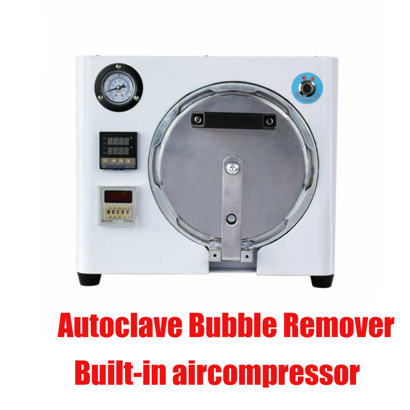 2018 New Built-in aircompressor OCA LCD Autoclave Bubble Remover Machine remove bubble for samsung Edge for iPhone Refurbish промышленная машина oem lcd bubble remover