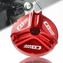 motorcycle engine plugs oil filler cap cover timing crankcase cover plug for kawasaki kx250f kx450f klx450r kx 250f 450f 2015 Motorcycle Engine Oil Filler Cup Cap Oil Filler Cap Plug Cover For HONDA CB500F CBR500R CB500X CB 500F 2013-2018 2014 2015 2016