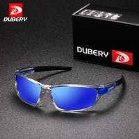 DUBERY Sonnenbrille männer Polarisierte Fahren Sport Sonnenbrille Für Männer Frauen Platz Farbe Spiegel Luxus Marke Designer 2017