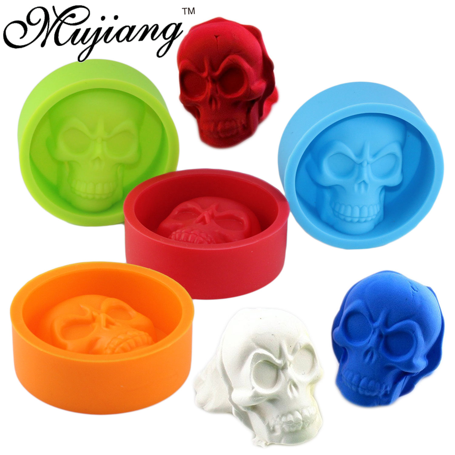 detail feedback questions about mujiang halloween skull ice cube