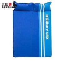 BSWolf дикий туристический коврик открытый двойной автоматический надувные подушки влагостойкие палатка коврик удобный дорожный надувной ма