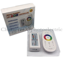 цена на 2.4G RF Wireless full touching screen LED RGB Remote Controller 12V/24V WiFi Compatible for 5050/3528 RGB led strip