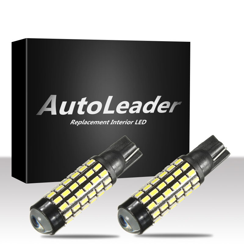 Autoleader 78 SMD 921 912 T10/15 White Auto LED Light Car Turn Signal Backup Reverse Lamp Light Bulb Car LED Light t10 3528 3w white light 21 led car signal light bulbs 2 pack dc 12v