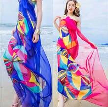 Женское шифоновое кимоно пляжный кардиган бикини накидка пляжная