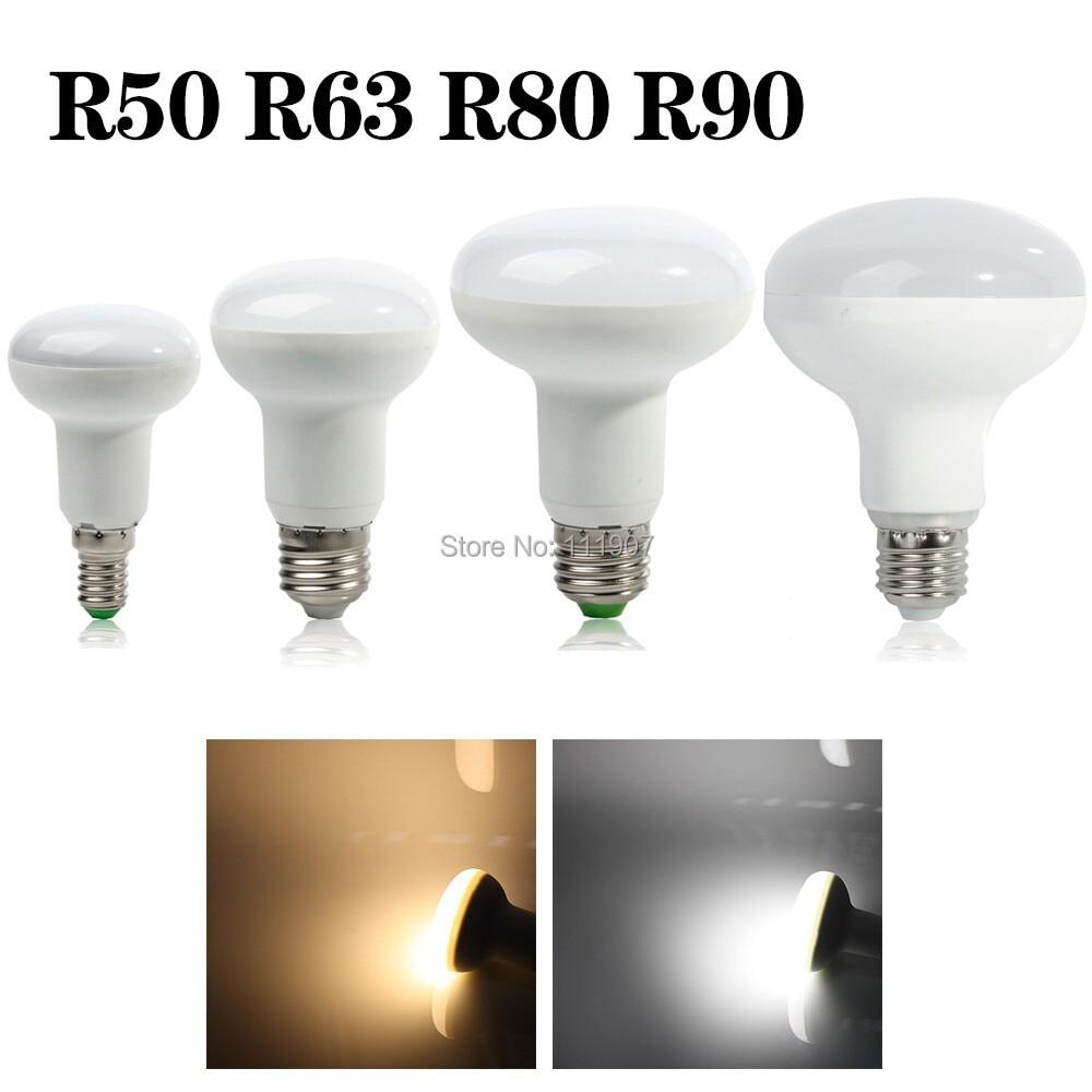 R50 R63 R80 R90 7W/10W/14W/15W E27 Umbrella LED Bulb Cool White/Warm White AC85~265V dimmable SpotLight 180 degrees Lamp mitsubishi 100% mds r v1 80 mds r v1 80