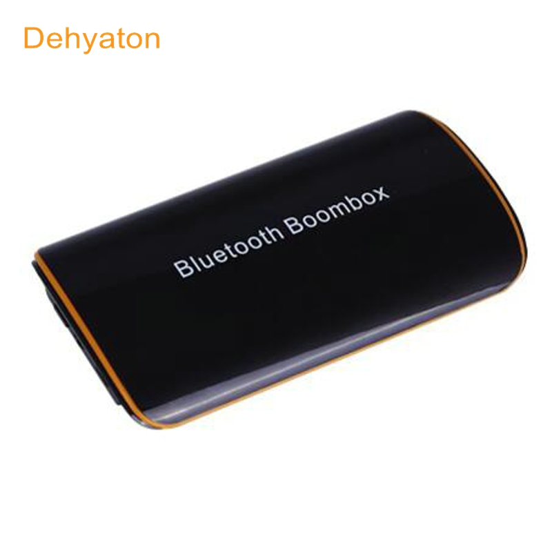 Dehyaton B2 Wireless Stereo Bluetooth 4.1 EDR Receiver Audio Music Box with Mic 3.5mm RCA for Speaker Car AUX Home Audio Devices