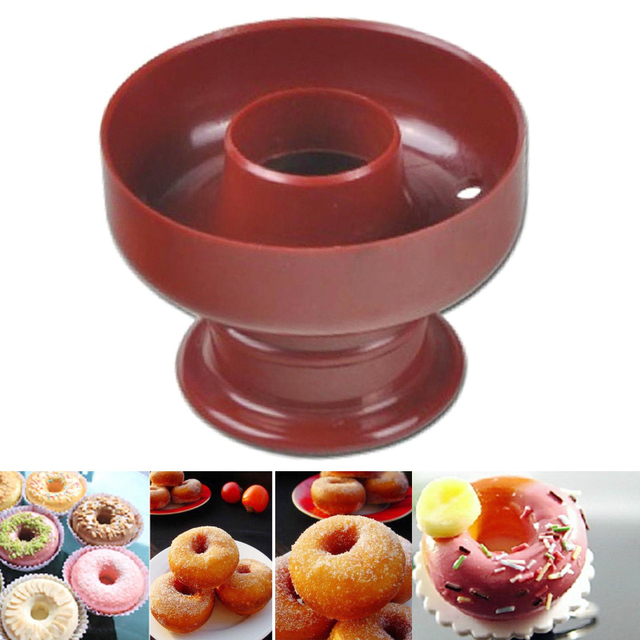 India Donuts die mold plastic hollow cake bread biscuits stamp model biscuit cutter cookie cutters C2009P10