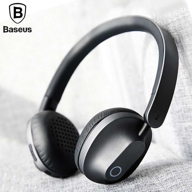 BASEUS D01Wireless Bluetooth наушники с микрофоном для телефонов компьютер  с микрофоном игровая гарнитура bluetooth стерео наушники cf5ee2298971b