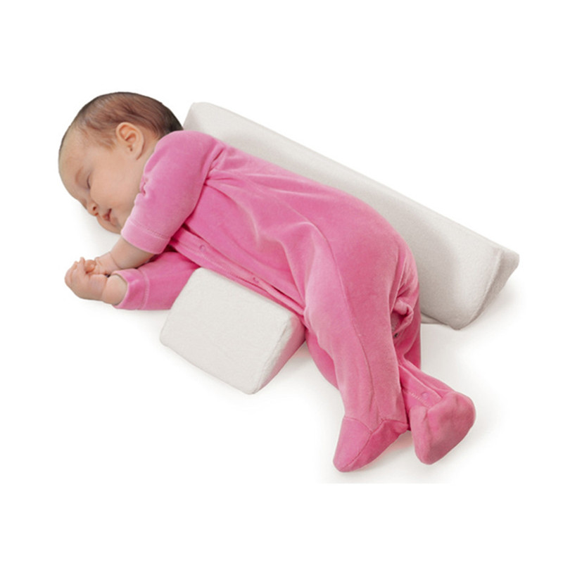 High-quality-pillow-Newborn-Baby-Infant-Sleep-Positioner-Prevent-Flat-Head-Shape-Anti-Roll-Pillow-2018(4)