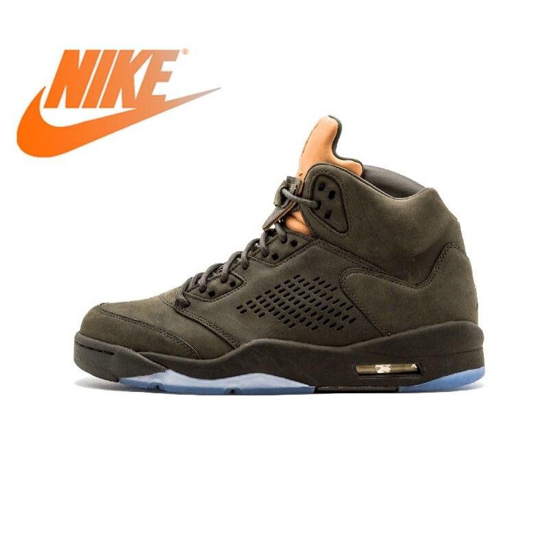 Оригинальный Nike Оригинальные кроссовки Air Jordan 5 Ретро Prem взять полет Мужская баскетбольная Обувь спортивная обувь Спорт на открытом воздух
