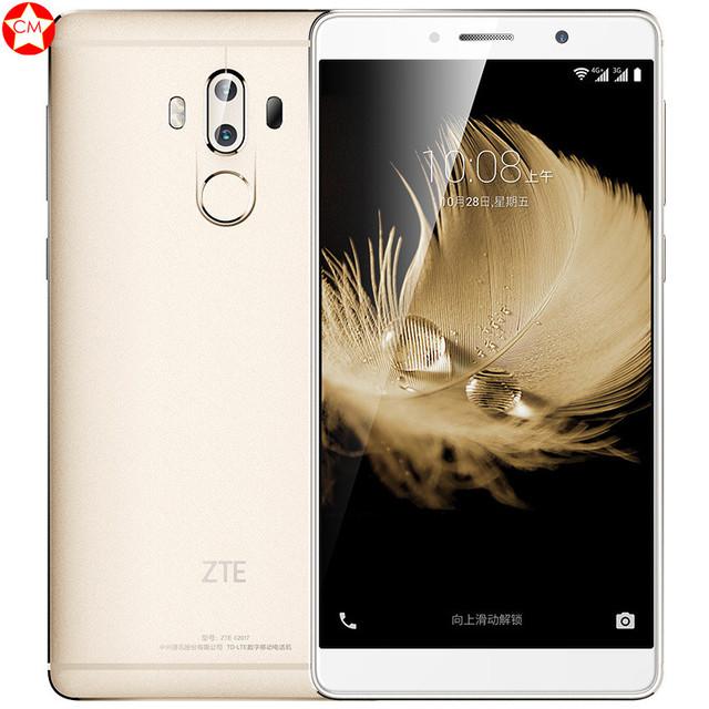 Original ZTE Axon 7 Max Hi-Fi Mobile Phone Snapdragon 625 6.0″ 4GB RAM 64 ROM 3D Display+Bionic Dual Camera 13.0MP Fingerprint