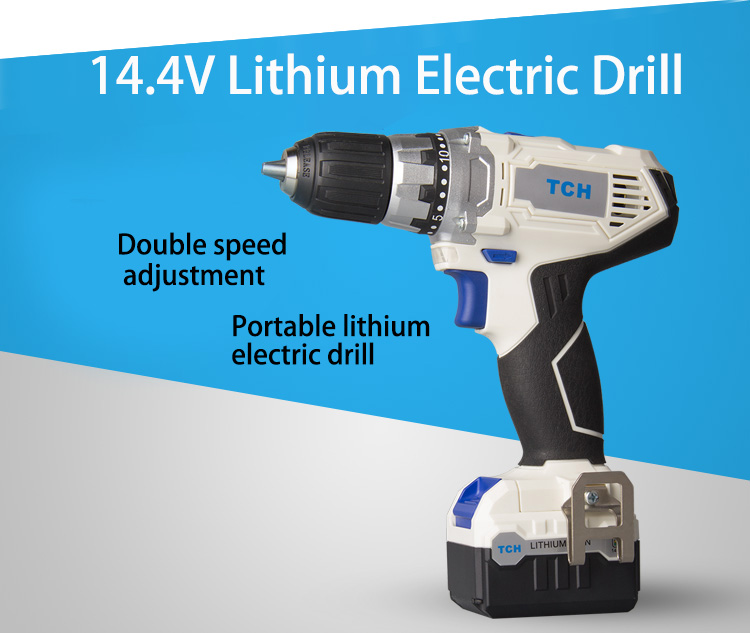 14.4V power tools electric Drill Electric Cordless Drill Screwdriver Mini Drill electric drilling dongcheng 220v 1010w electric impact drill darbeli matkap power drill stirring drilling 360 degree rotation power tools