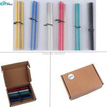 40pcs / lot 40Pin Male Female 2.54mm 10mm Single Row Pin Header 6 Warna untuk Arduino 6 Warna